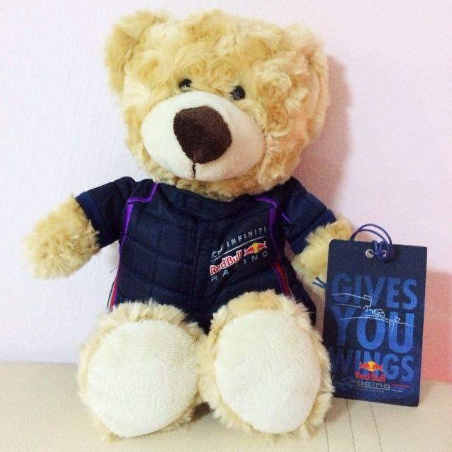 Redbull Racing Teddy Bear