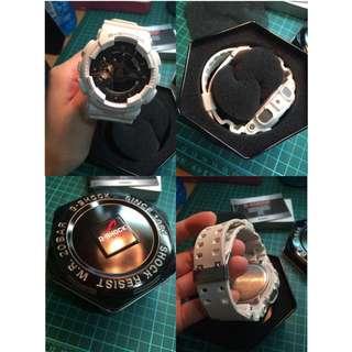 G-shock白玫瑰金 9.5成新