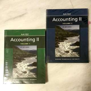 [Declutter sale] AB1102 Accounting II