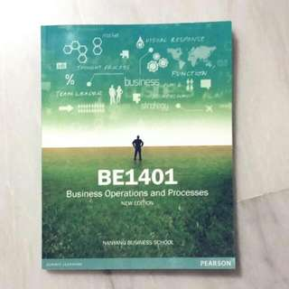 BE1401 Biz Ops (With Class Notes!!)