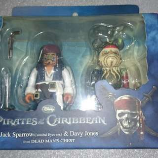 Pirates Of The Caribbean Kubrick/Bearbrick