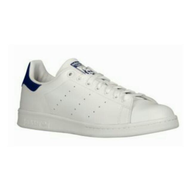 new style b1369 72e2b Adidas Originals Stan Smith White / New Navy