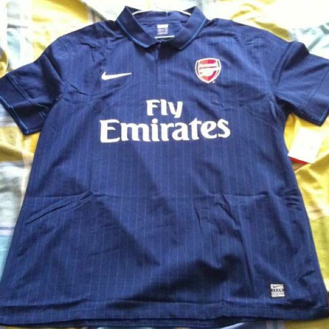 promo code 82707 95f18 Arsenal Away kit 2009/2010 Player issue, Sports on Carousell