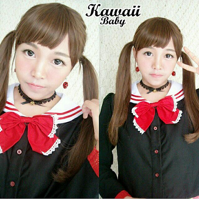 Black Seifuku Sailor Jaket - Enma Ai Daily Casual Wear - Crop Top -seragam sailor - Sailormoon - Cosplay