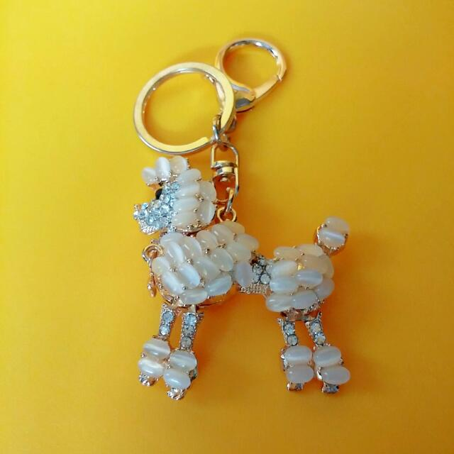 BN Bling Poodle Key Chain 64a03afc4