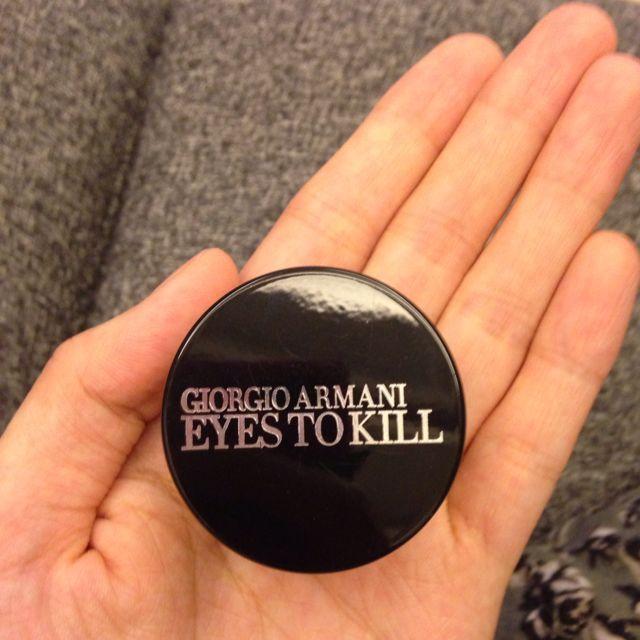 降價嘍~Giorgio Armani決戰時刻 眼影 非常美的黑帶紅色