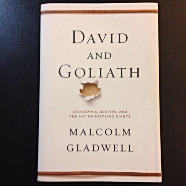 RESERVED Malcolm Gladwell - David & Goliath