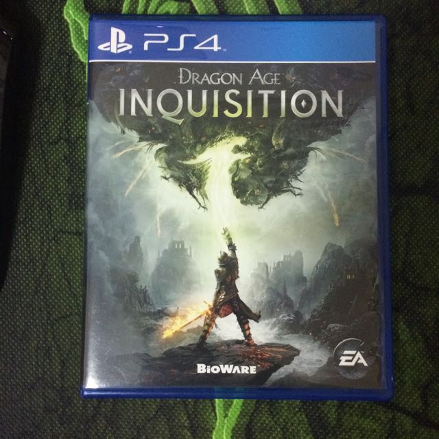 PS4 Dragon Inquisition Preloved
