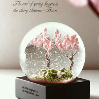 (Preorder) Four Seasons 3D Waterglobe