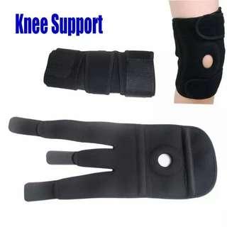 Elastic Knee Belt Support Patella Brace Fastener Neoprene Adjustable Strap