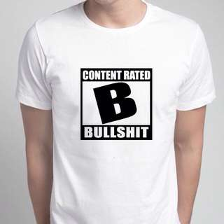 Content Rated Bullshit Shirt