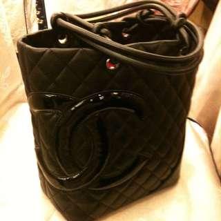 Chanel 經典限量包 內裏桃紅色 正品