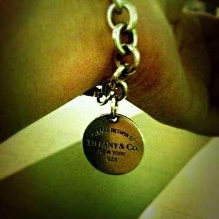 Tiffany 1837 圓牌 手鍊