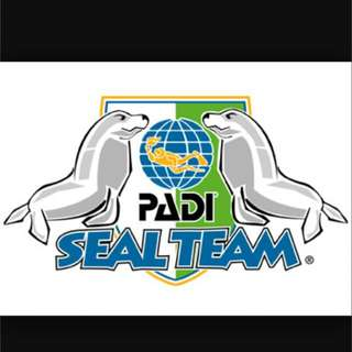 PADI SEAL TEAM FOR 8 YEARS OLD AND ABOVE