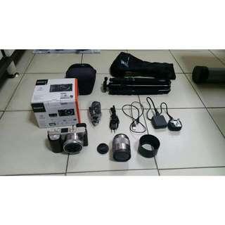 Sony A6000 Kit + SEL50F18 & Accessories