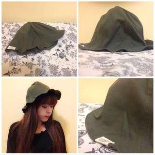(保留)軍綠漁夫帽