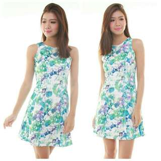 Shanon Floral Dress (S Size)