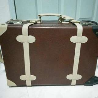 Brown Carry On Luggage From Japan
