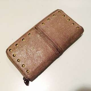 Fossil Wallet (suede Leather)