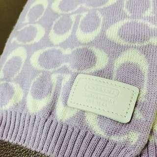 Coach圍巾