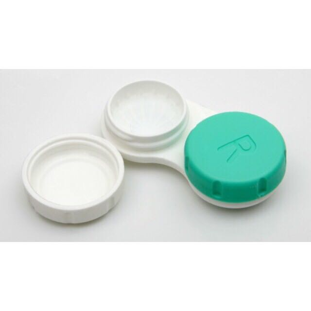 Alcon Contact Lens Case, Health & Beauty, Makeup on Carousell