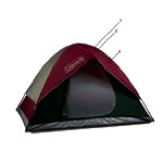 ... Used Coleman Sundome 7x7 Tent For 3 Person ...  sc 1 st  Carousell & Used Coleman Sundome 7x7 Tent For 3 Person Sports on Carousell