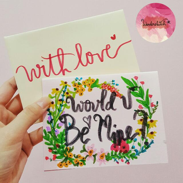 CUSTOMIZED: Say It With Cards😗😗😗