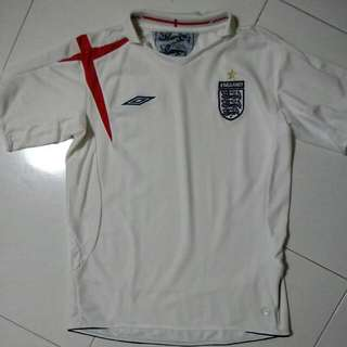 7f70a41df England World Cup 2006 Jersey