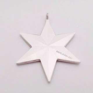Georg Jensen 喬治傑森 2010年 Star 星星吊飾