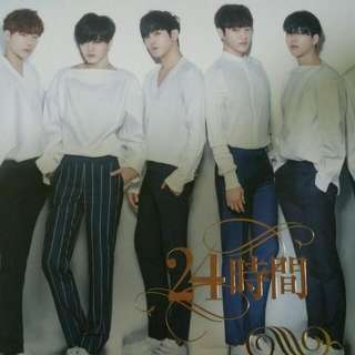 (WTS) Infinite 24 Hours Japan Normal Ver Album (Group Photocards)