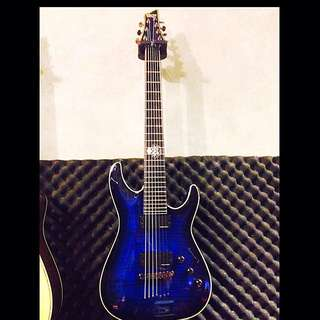 Schecter Blackjack C-7 七弦主動式電吉他
