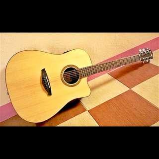 Veelah V1-dce 單板D桶身電木民謠吉他