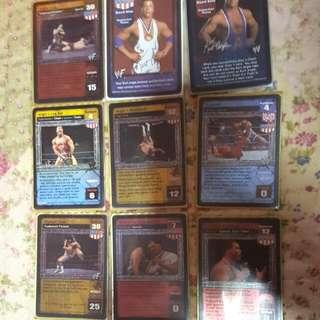 Wwe Wwf Card Kurt Angle/ Your Freaking Hero