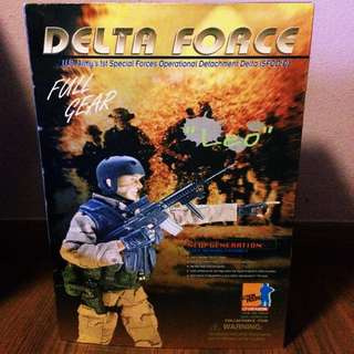 "Delta Force ""LEO"" 1/6 Action Figure"