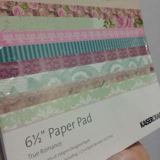 Craft paper design scrapbook Gifts 6x6 Inch 40 Sheets 160gsm