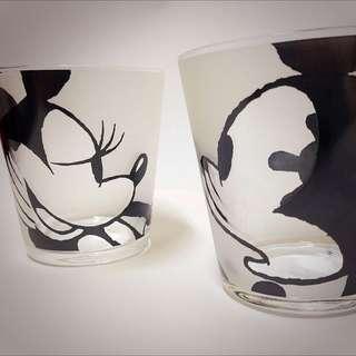 《日本🇯🇵》Disney 米奇米妮雙人玻璃杯