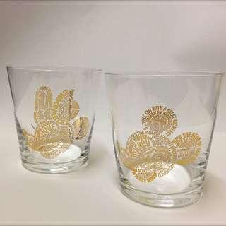 《日本🇯🇵》Disney 米奇米妮 90周年雙人玻璃杯