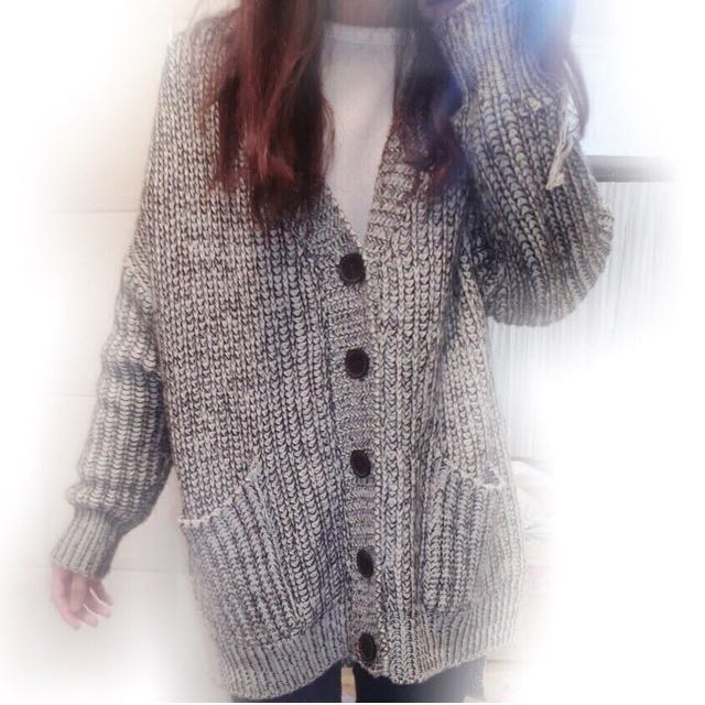 毛線針織外套