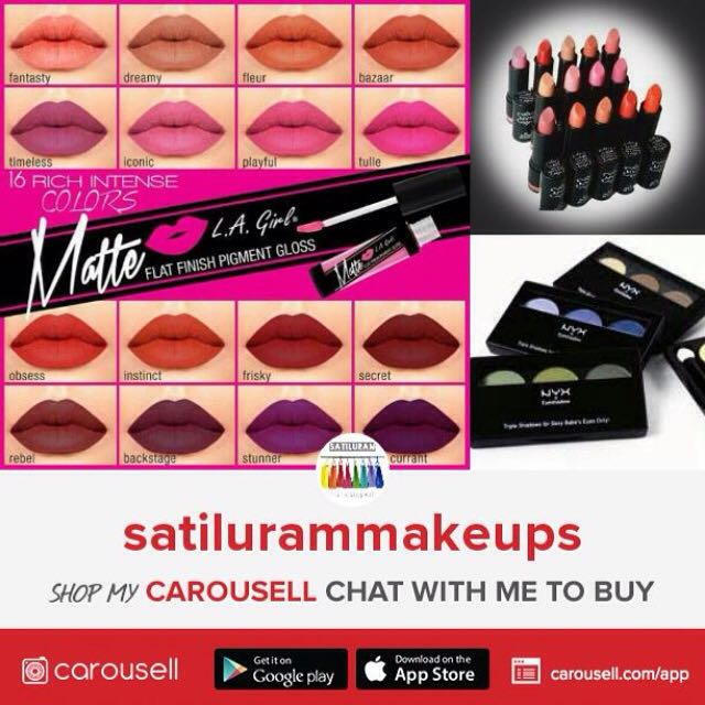 ️️ATTENTION ❤️ Follow SatiluramMakeUps For Authentic Beauty Products 💋