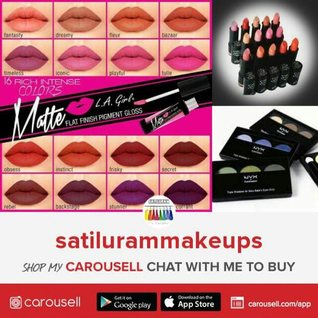 ATTENTION! FOLLOW FOR AUTHENTIC MAKE UP PRODUCTS