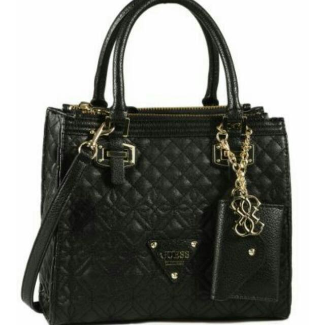c7e4107855 Authentic Brand New Guess Bag - Sac Porte Main Sunset Quilt, Luxury ...