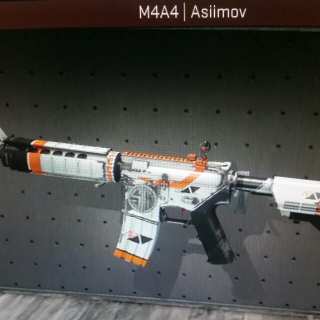 battle scarred asiimov