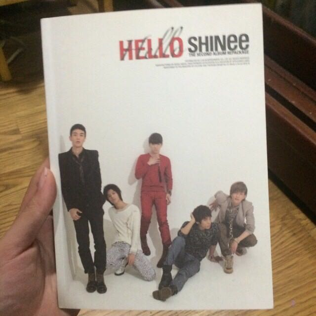 SHINee Hello韓版專輯