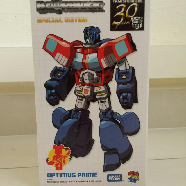 f901782a RESERVED Transformers Bearbrick Optimus Prime, Toys & Games on Carousell