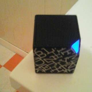 blucube bluetooth speaker