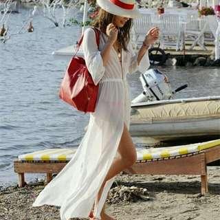 🚚 度假風比基尼長罩衫691405✈®_LADY