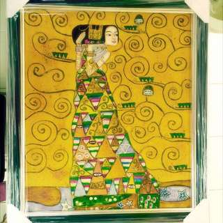 Oil Painting By Klimt