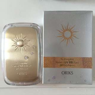 ORIKS無瑕防曬粉餅SPF50/PA+++
