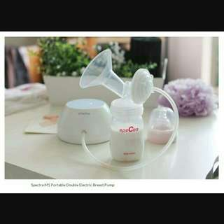 Spectra M1 Double Electric Breast Pump (6 Mths LOCAL WARRANTY + FREE SPEEDY DELIVERY SERVICE)