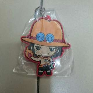 One Piece Ace phonestrap